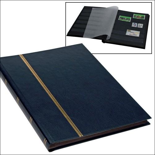 """Classeur Format """"Livre"""" - 16 pages - fond noir"""