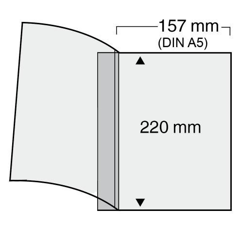"""Feuilles """"Compact"""" - Pour Documents Double A5 - 1 Bloc"""