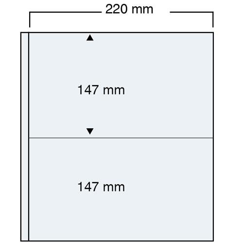 """Feuilles """"Compact A4"""" - 2 Blocs - Paquet de 10"""