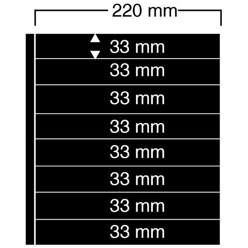 "Feuilles ""Compact A4"" - 8 Bandes - Paquet de 10"