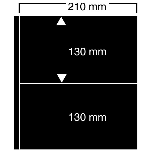 """Feuilles """"Compact A4"""" - ClipFix - 2 Blocs"""