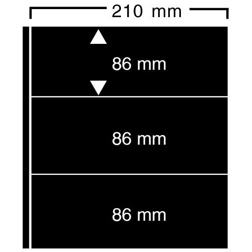 """Feuilles """"Compact A4"""" - ClipFix - 3 Blocs"""
