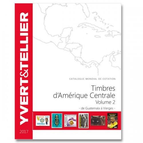 Timbres d'Amérique Centrale - 2017 - de Guatemala à Vierges