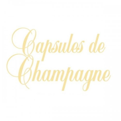Signette Capsule de Champagne - Version Or