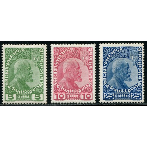 Lot 6474c - Liechtenstein - N°1/3