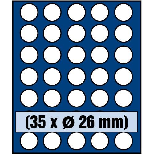 """Médaillers -""""NOVA"""" Standard - 2€ - SAFE"""