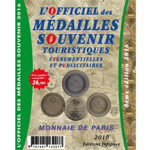 Officiel des médailles souvenir EVM Monnaie de Paris 2016