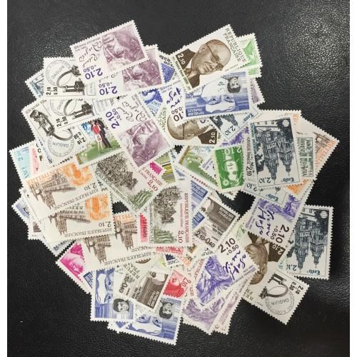 Lot de faciale 100 timbres à 2,10 Francs pour Affranchissement