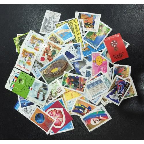 Lot de faciale 100 timbres à 0,46€ (46€)