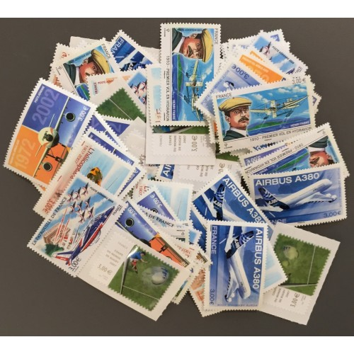 Lot de faciale 76 timbres de 3€ (228€)