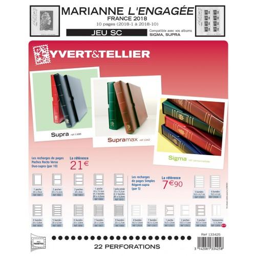 NOUVEAUTE - Jeux SC 2018 Marianne l'engagée