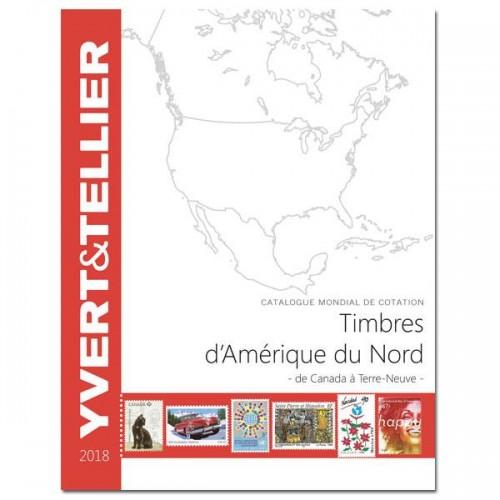 Timbres d'Amérique Du Nord - 2018 - De C à Terre Neuve