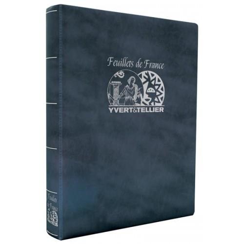 "Album INITIA ""Feuillets de France"" : Etui + Reliure"