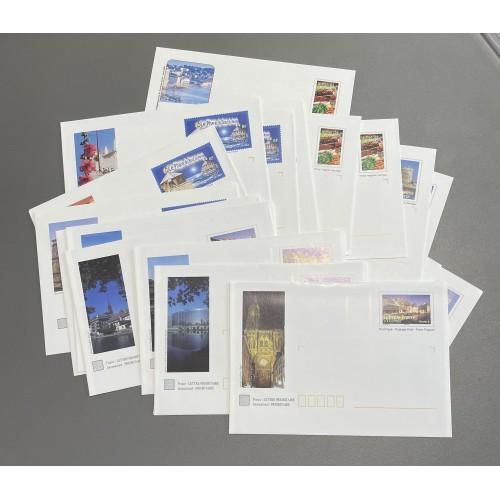 Lot de faciale 100 timbres TVP Monde